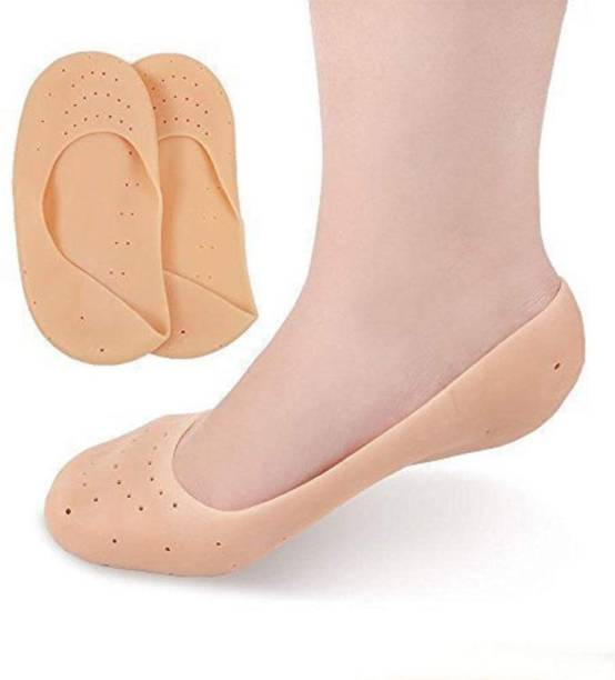 Parikshit Sublimation Anti cracked heel socks Repair Dry hard feet full length Silicone Protector Moisturizing socks Relief swelling pain, Ultra cushion soft foot skin care product for Men, Women, Girls free size