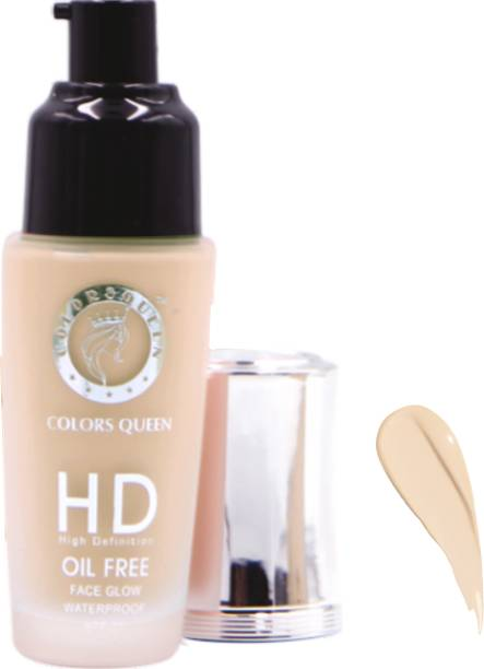 COLORS QUEEN HD Foundation SPF 20 Oil Free Foundation