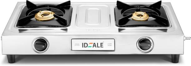 Ideale Unite 2 Burner ISI Stainless Steel Manual Gas Stove