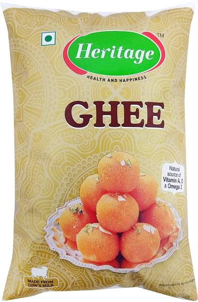 Heritage Ghee 1 L Pouch