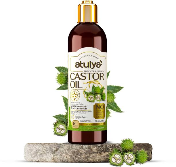 Atulya Cold Pressed Castor Oil Hair Oil
