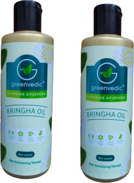 GreenVedic Bringha Hair Oil ( Buy Pack of 2 And Get 40% off ) Hair Oil