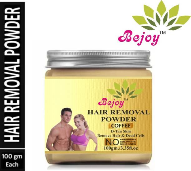 Bejoy 100% pure & Natural Hair Removal-Powder-100g Pack of 1 Cream