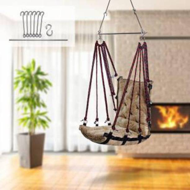 Swingzy Soft Velvet Premium Hanging Swing Cotton Hammock