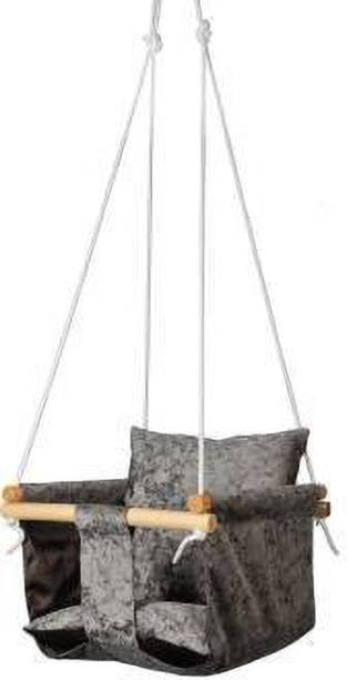 Swingzy Swing For New Born/Swing Jhula Wooden Small Swing