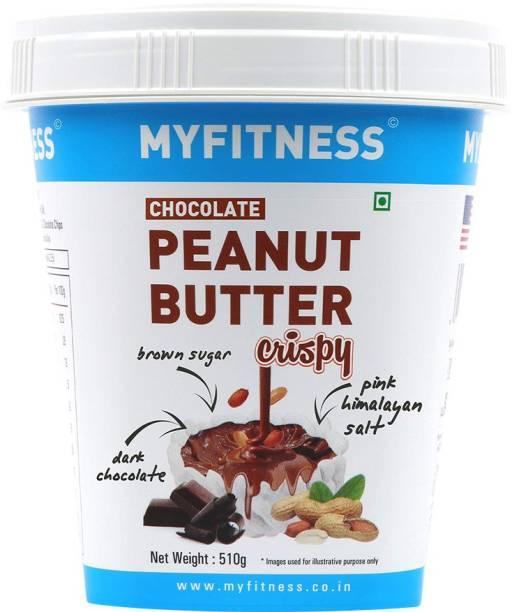 MYFITNESS Chocolate Peanut Butter Crispy 510 g