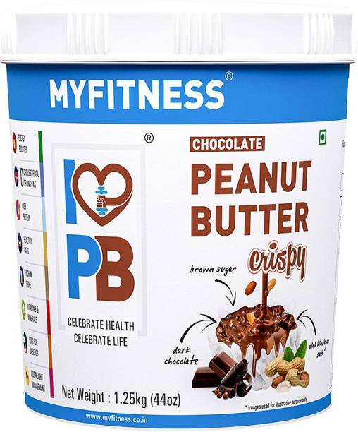 MYFITNESS Chocolate Peanut Butter Crispy 1250 g