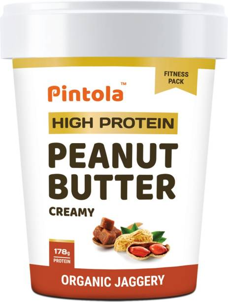 Pintola HIGH Protein Peanut Butter (JAGGERY) (Creamy) 510 g