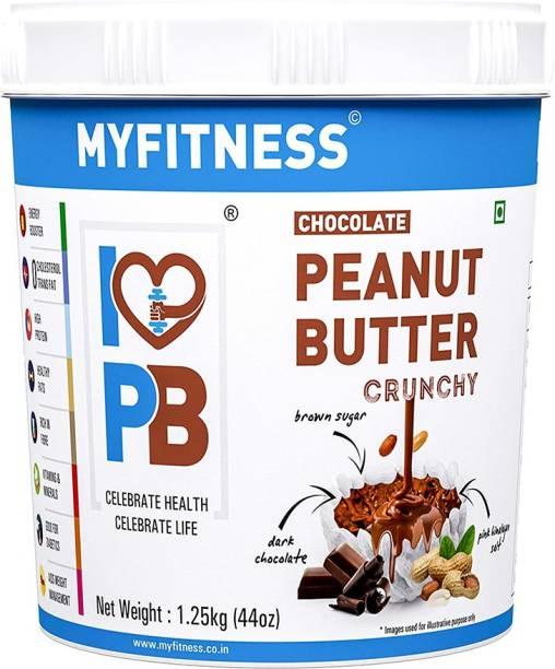 MYFITNESS Chocolate Peanut Butter Crunchy 1250 g