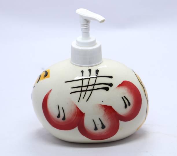 karari Ceramic Handwash Liquid Soap Dispenser | Handmade Shampoo Dispenser | Lotion Dispenser | Gel Dispenser | Multi color | 300 ML 300 ml Soap Dispenser 300 ml Liquid, Soap Dispenser