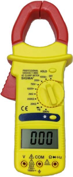 SIGMA AC Clamp Meter 6046 TRMS, Current Upto 1000 A AC Digital Multimeter