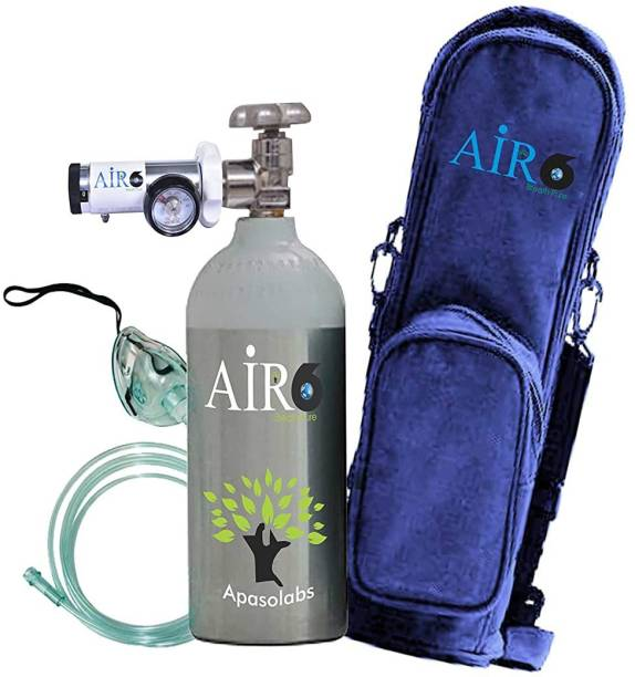 Air6 Light Weight Portable Oxygen Cylinder Kit (150 Liters) Portable Oxygen Can