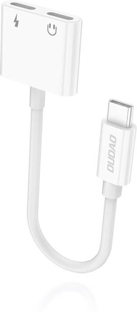 DUDAO White Type-c Interface Multitask Connector Phone Converter