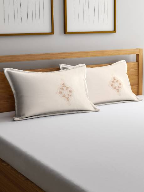 Trident Cotton Abstract Sleeping Pillow Pack of 2