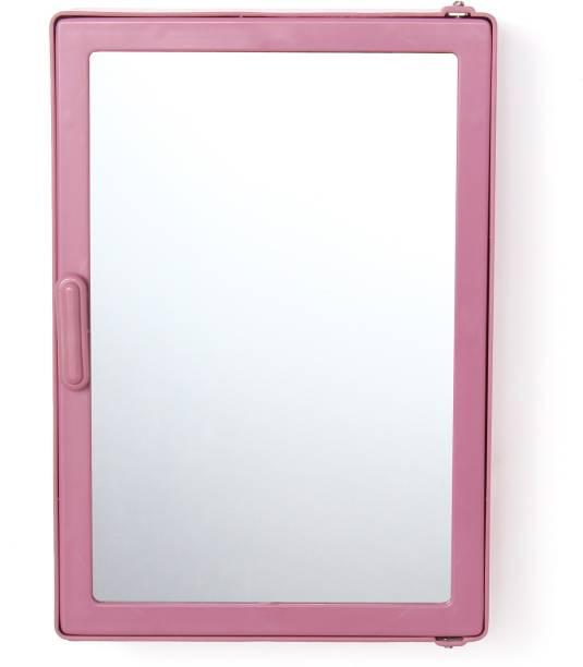 Zahab Bathroom Cabinet With Mirror Magenta Dual Mount Medicine Cabinet