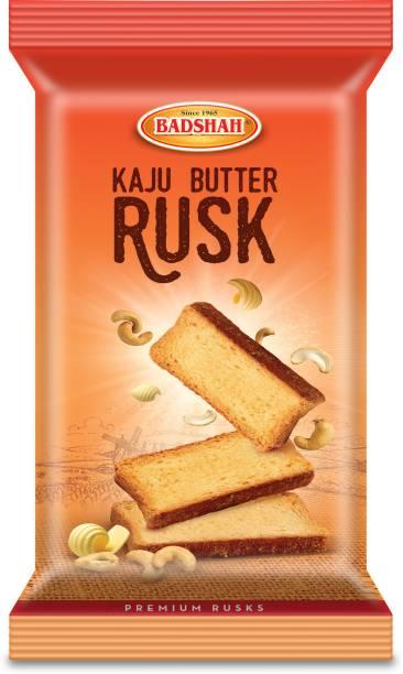 BADSHAH MILK RUSK Kaju and butter flavor rusk - 150g each- Combo of 3 Kaju & Butter flavored Buttermilk Rusk