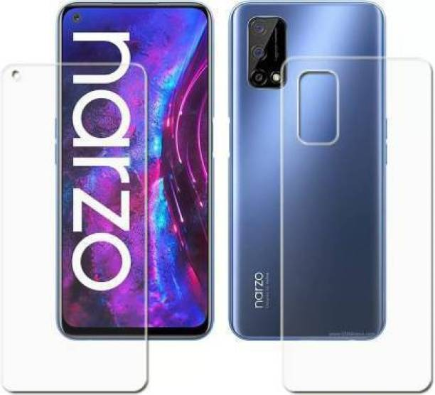 PR SMART Front and Back Tempered Glass for Realme Narzo 30 Pro