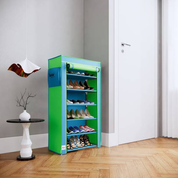 Raunak 6 Layers with Cover/Multipurpose Rack/Kids Rack Metal Shoe Stand