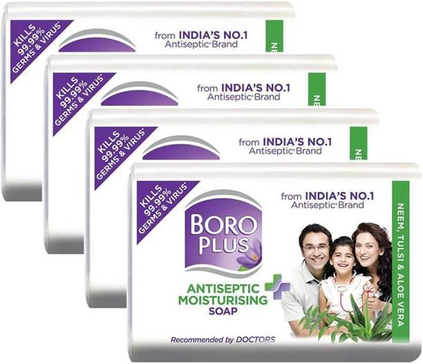 BOROPLUS Antiseptic Moisturising Soap 125gm Pack Of 4