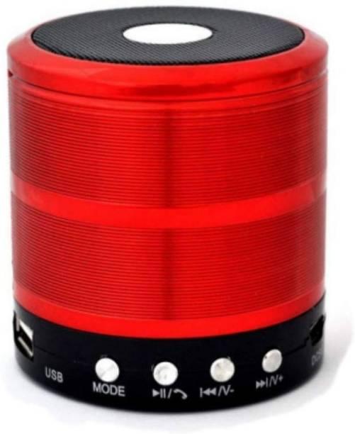 OBDIR Mini Speaker Powerful Sound & FM Radio, Memory Card Slot, USB Pen Drive Slot Easy To Connect All devices 5 W Bluetooth Speaker 5 W Bluetooth Speaker