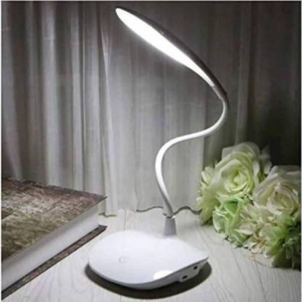 Emerald Rechargeable LED Touch On/Off Switch Desk Lamp Children Eye Protection Student Study Reading Dimmer Rechargeable Led Table Lamps USB Charging Touch Dimmer Study Lamp