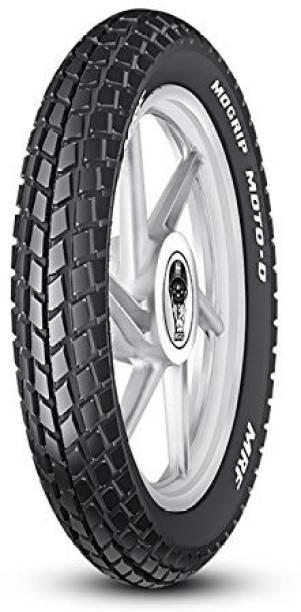 MRF MOGRIP MOTO-D 3.00-18 52P Tube type Tyre 3.00-18 Rear Tyre