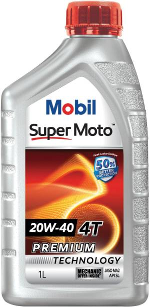 MOBIL Super Moto 20W-40 4T Premium Technology Conventional Engine Oil