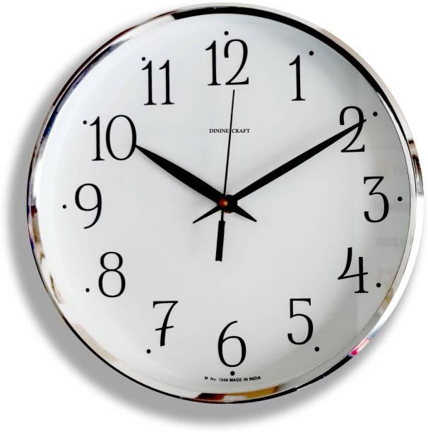 mishty Analog 25 cm X 25 cm Wall Clock