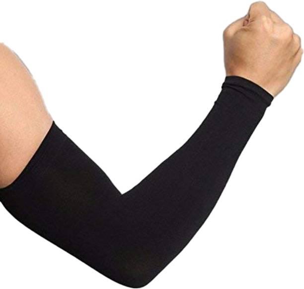 Krizler Cotton, Nylon Arm Sleeve For Men & Women