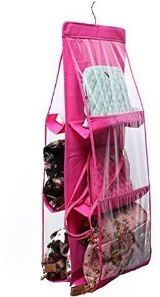 JustandKrafts HDB_Pink Luggage Bag Cover