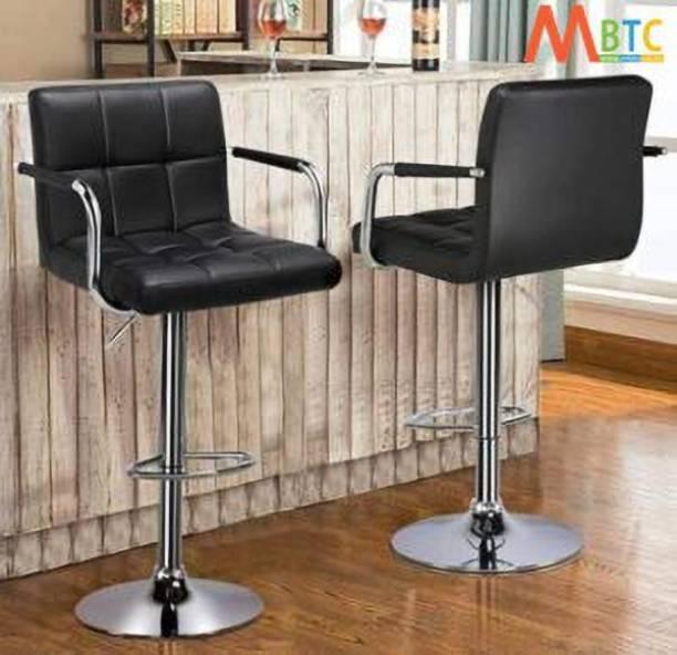 MBTC Cadbury Handrest Leatherette Bar Stool