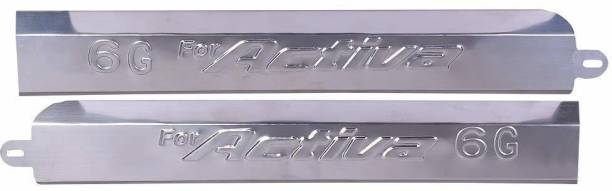 shiv ambika Stainless Steel Side Channel or Panel Cover and Patti Bike Crash Guard