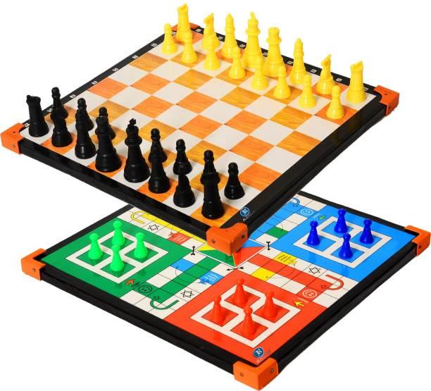 RASCO CHESS BOARD WITH LODO Strategy & War Games Board Game