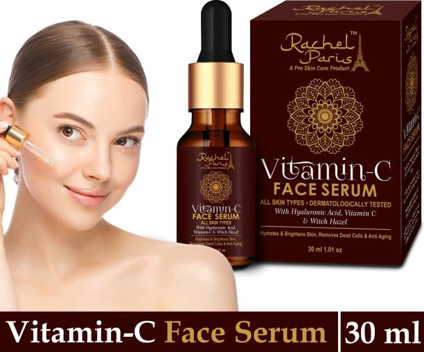 Rachel Paris Vitamin c facial serum for men & Women