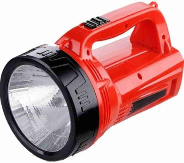 awza DP-7049 PORTABLE RECHARGEABLE LED Torch Emergency Ligh (1W)LED is in advantages of energy-saving, high light and long life. Function as search light or emergency light t Torch (Blue : Rechargeable) Torch Emergency Light