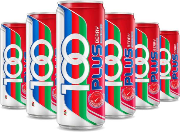 100Plus Berry Isotonic Drink, 325 ML (Pack of 18) Hydration Drink