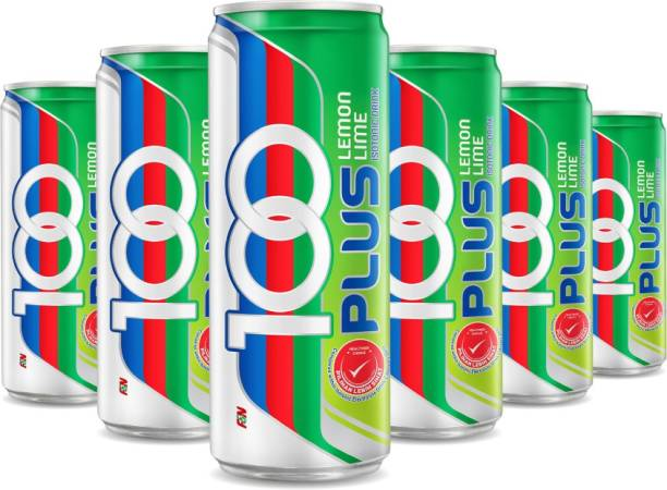 100Plus Lemon Lime Isotonic Drink, 325 ML (Pack of 18) Hydration Drink