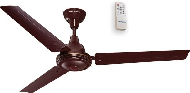CROMPTON Energion Esave 34 1200 mm BLDC Motor with Remote 3 Blade Ceiling Fan