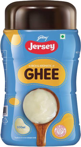 Jersey Buffalo Ghee 500 ml Plastic Bottle