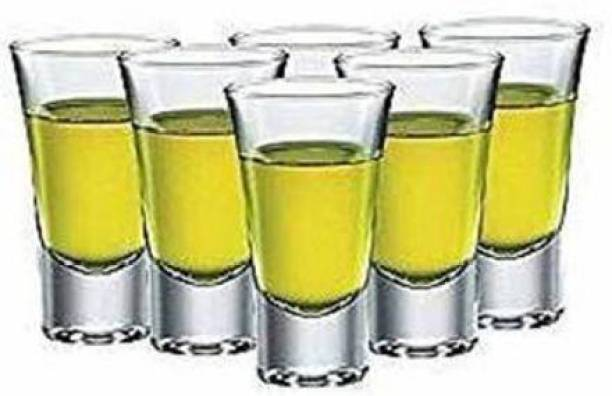 Wazoba (Pack of 6) Shot Glass_1 Glass Set