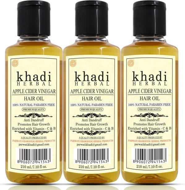 Khadi Herbal APPLE CINDER VINEGAR HAIR OIL Hair Oil