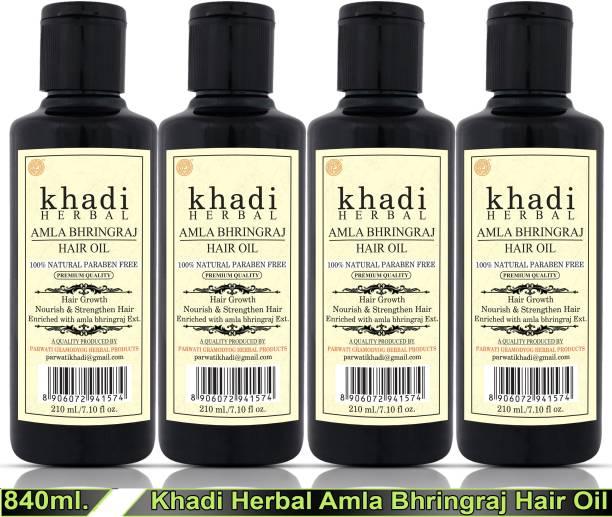 Khadi Herbal KHADI AMLA BHRINGRAJ HAIR OIL Hair Oil
