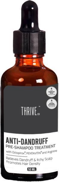 ThriveCo Anti-Dandruff Pre-Shampoo Treatment, 50ml, for Dandruff, Itchy Scalp