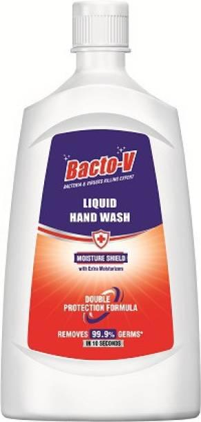 Bacto-V Moisture Shield Handwash 750ml Pack of 3 Hand Wash Pump Dispenser