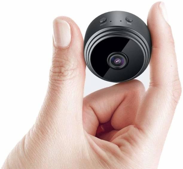 OJXTZF BEST QUALITY 1080p HD Mini WiFi spy secret Hidden Camera, Live on Mobile App , Wireless IP CCTV Security Camera Supports 128GB MicroSD Card (Not Included) (Battery Backup)-Nr65 Spy Camera