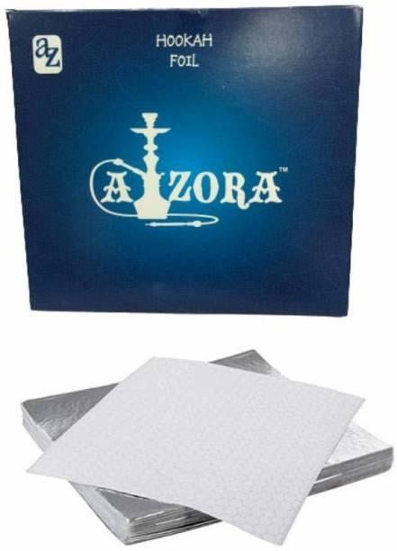 SCORIA Pre-Cut Silver Aluminum Paper Foil
