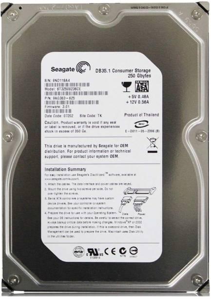 Seagate OEM 250 GB Desktop Internal Hard Disk Drive (ST250DP)