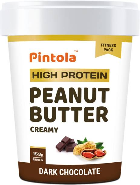 Pintola HIGH Protein Peanut Butter (Dark Chocolate) (Creamy) 510 g