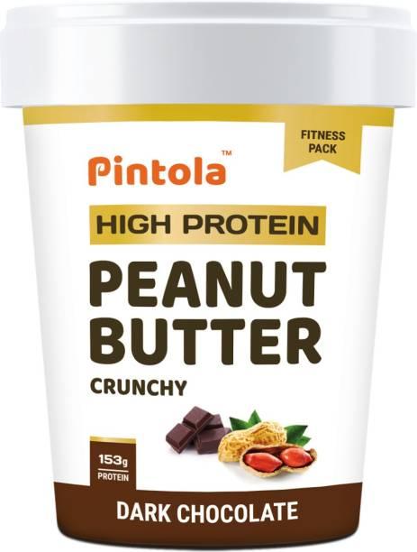 Pintola HIGH Protein Peanut Butter (Dark Chocolate) (Crunchy) 510 g