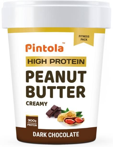 Pintola HIGH Protein Peanut Butter (Dark Chocolate) (Creamy) 1 kg